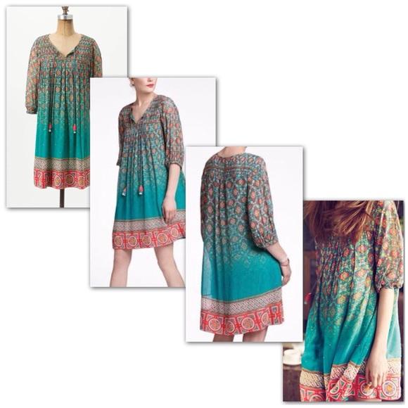 6114bb23041c Anthropologie Dresses & Skirts - Anthro Tanvi Kedia Glimmered Ankita Dress  ...
